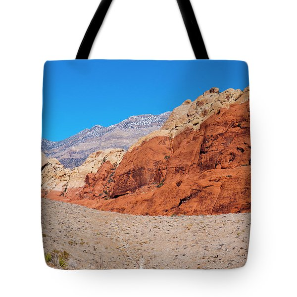 Red Rock Canyon Tote Bag by Rae Tucker