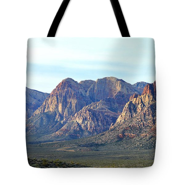 Tote Bag featuring the photograph Red Rock Canyon - Scale by Glenn McCarthy Art and Photography