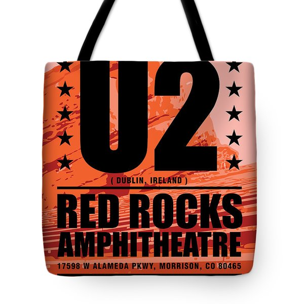 Red Rock Concert Tote Bag by Gary Grayson