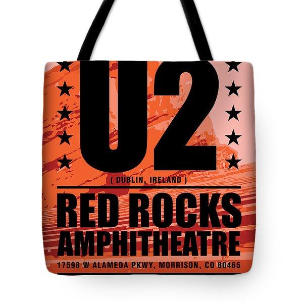 Red Rock Concert Tote Bag