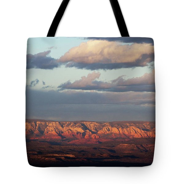 Red Rock Crossing, Sedona Tote Bag by Ron Chilston