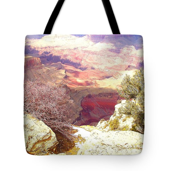 Red Rock Tote Bag by Marna Edwards Flavell