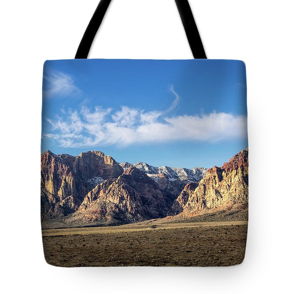Red Rock Morning Tote Bag