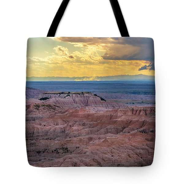 Red Rock Pinnacles Tote Bag