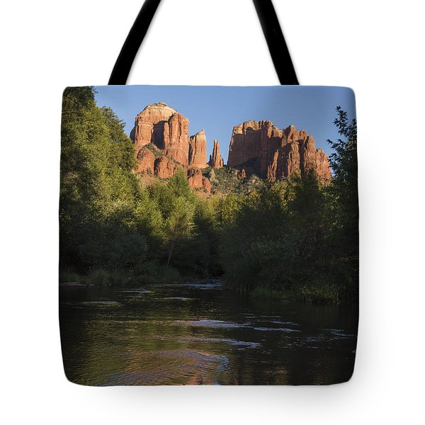 Red Rock Reflections Tote Bag