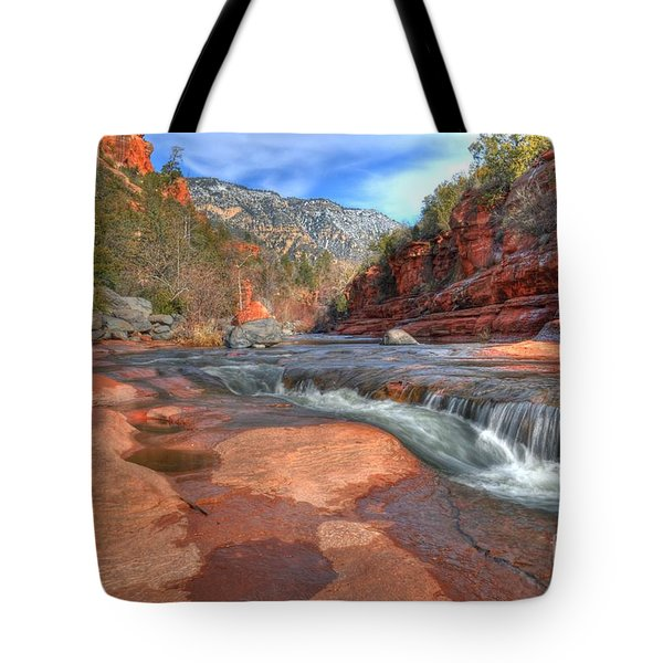 Red Rock Sedona Tote Bag by Kelly Wade