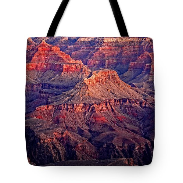 Red Rock Sunset Tote Bag