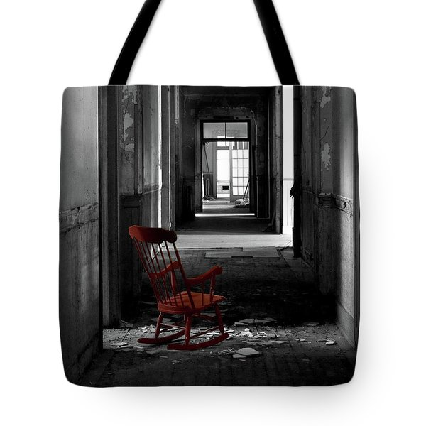 Red Rocker - Preston Castle Tote Bag