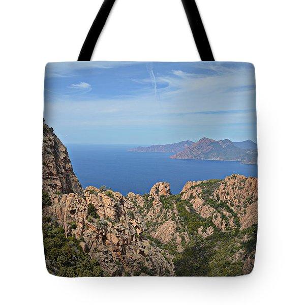Red Rocks Corsica Tote Bag