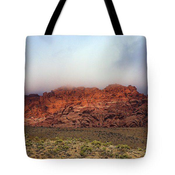Red Rocks In Red Rock Canyon Tote Bag