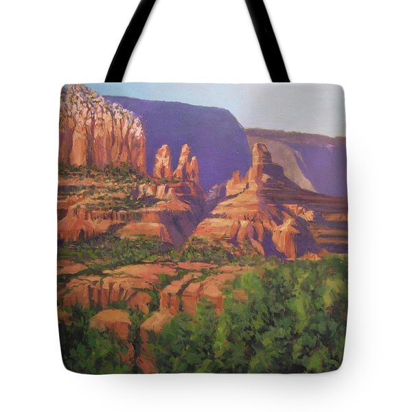 Red Rocks Sedona Tote Bag