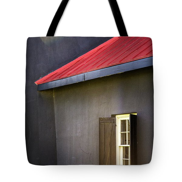 Red Roof Tote Bag