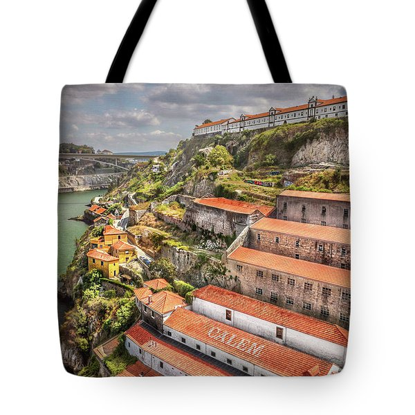 Red Roofs Of Porto Tote Bag
