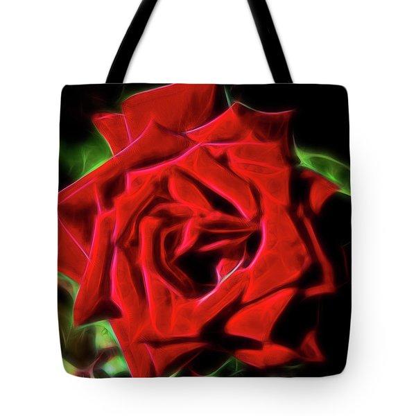 Red Rose 1a Tote Bag