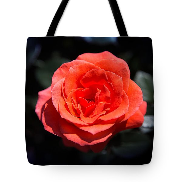 Red Rose Art Tote Bag