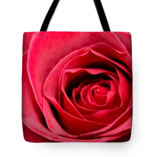 Tote Bag featuring the photograph Red Rose by DJ Florek