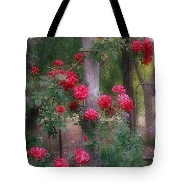 Red Rose Dream Tote Bag