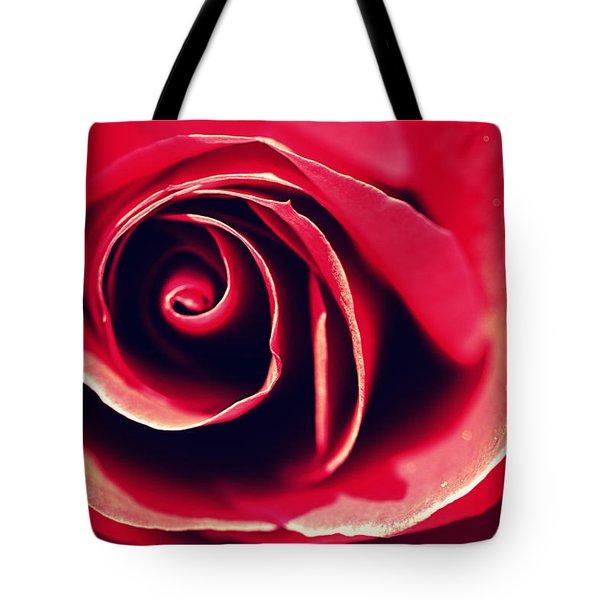 Red Rose Tote Bag by Joseph Skompski