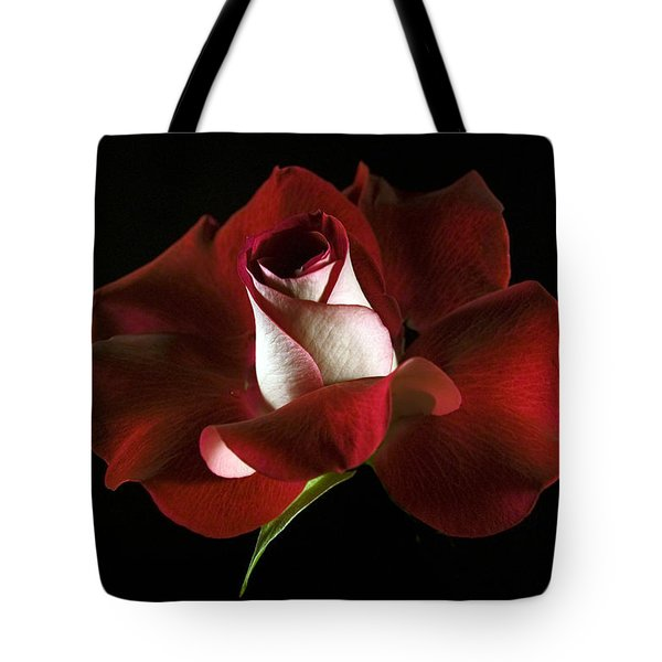 Red Rose Petals Tote Bag