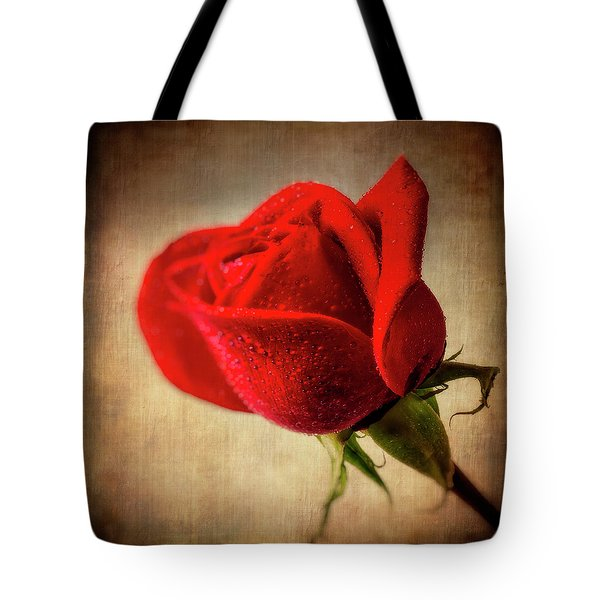Red Rose Romance Tote Bag
