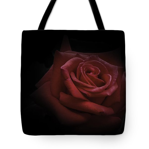 Tote Bag featuring the photograph Red Rose by Ryan Photography