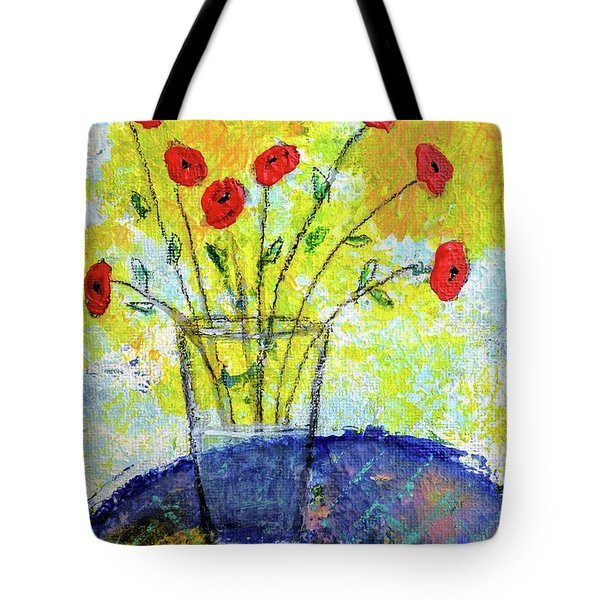 Red Roses For You Tote Bag