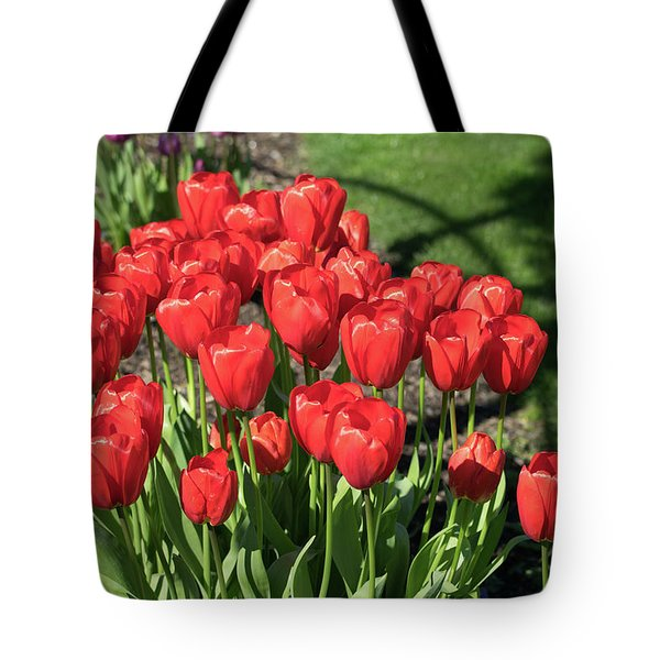 Red Royalty Tote Bag