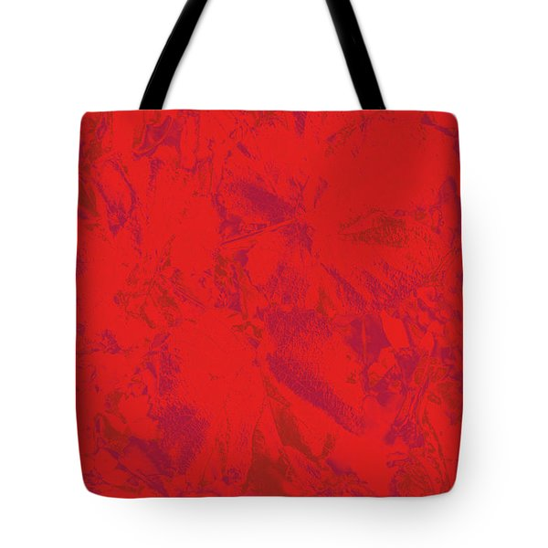 Tote Bag featuring the photograph Red Rules by Nareeta Martin