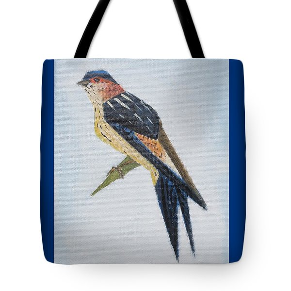 Red-rumped Swallow Tote Bag
