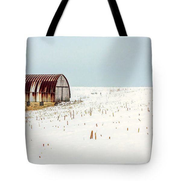 Red, Rusty Roof Tote Bag