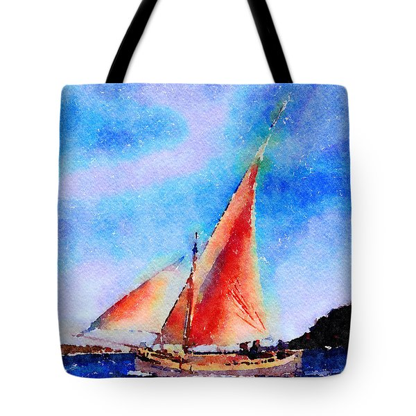 Red Sails Delight Tote Bag