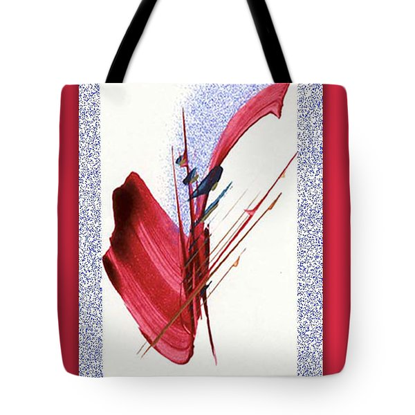 Red Sax Tote Bag