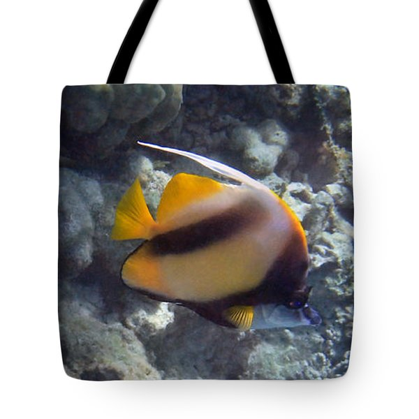 Red Sea Bannerfish 2 Tote Bag