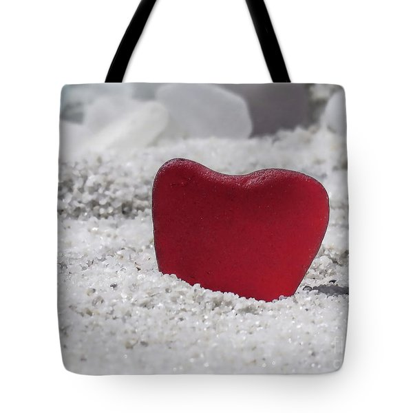 Red Sea Glass  Tote Bag