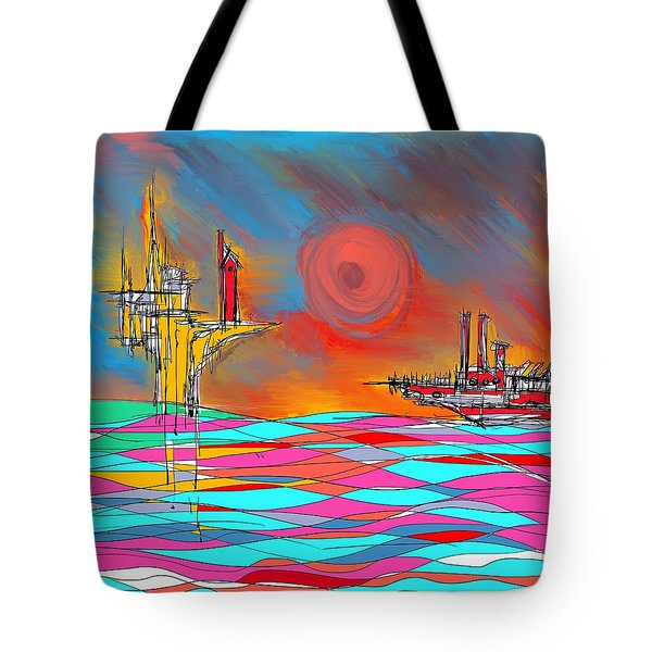 Red Sea Tote Bag