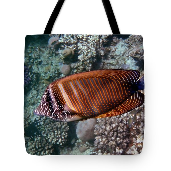 Red Sea Sailfin Tang 3 Tote Bag