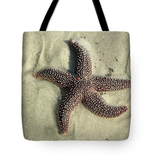 Red Sea Star Tote Bag