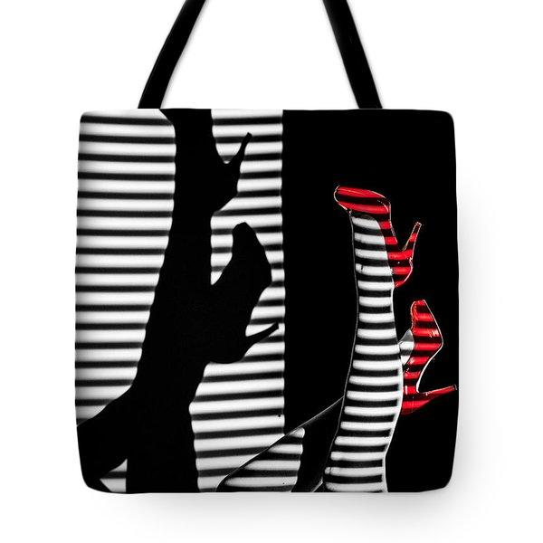 Red Shoe Diaries Tote Bag