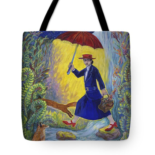 Red Shoes Mary Poppins Tote Bag