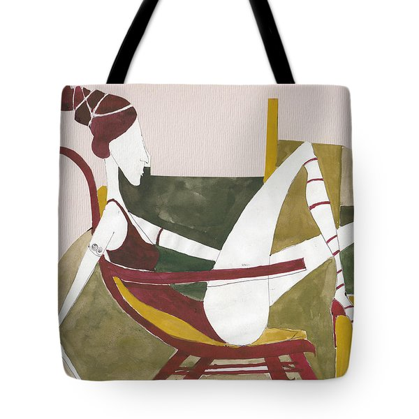 Red Shoes Tote Bag