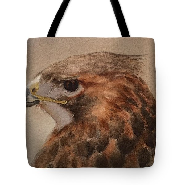 Red-shouldered Hawk Tote Bag
