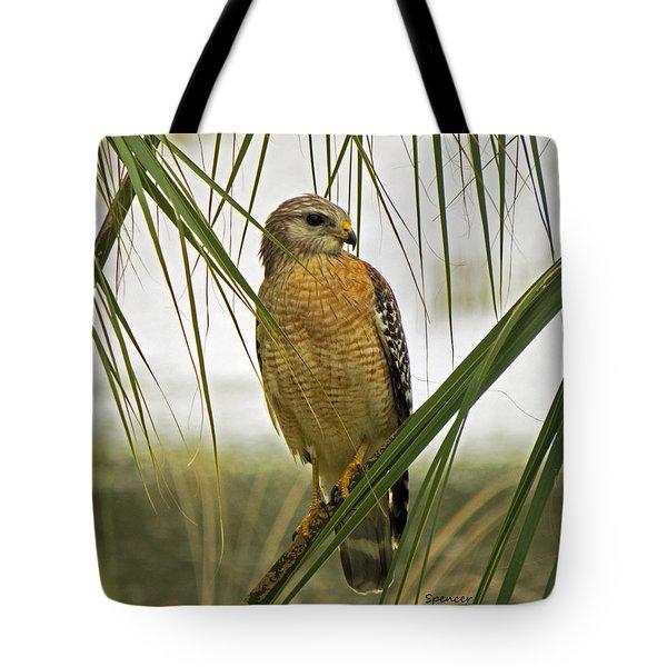 Red-shoulders Tote Bag