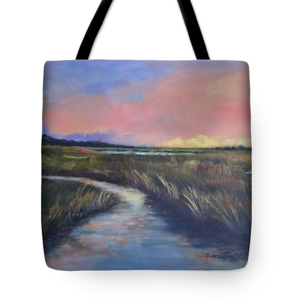 Red Skies Tote Bag