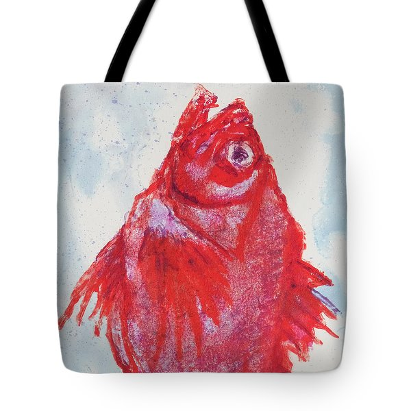 Red Snapper,head  Tote Bag