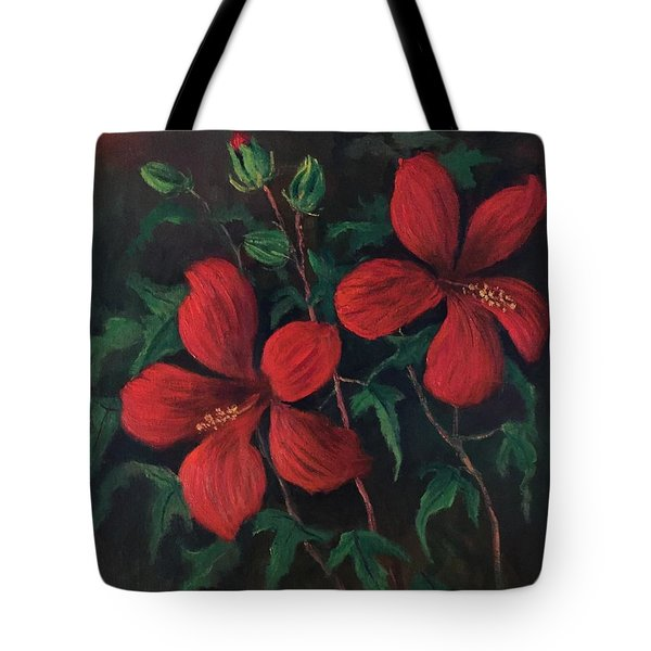Red Soldiers Tote Bag