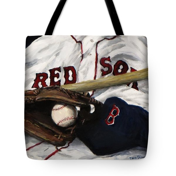 Red Sox Number Nine Tote Bag