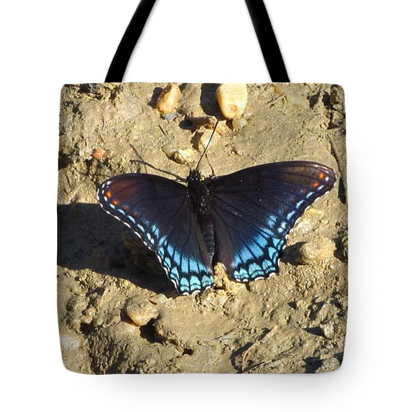 Red Spotted Purple Astyanax Tote Bag