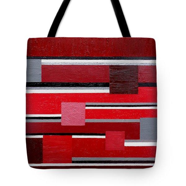 Red Square Tote Bag