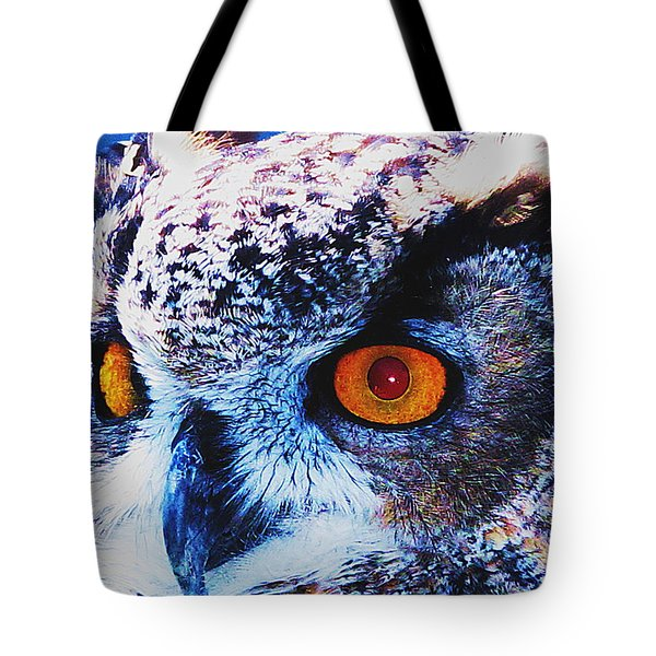Red Stare Tote Bag