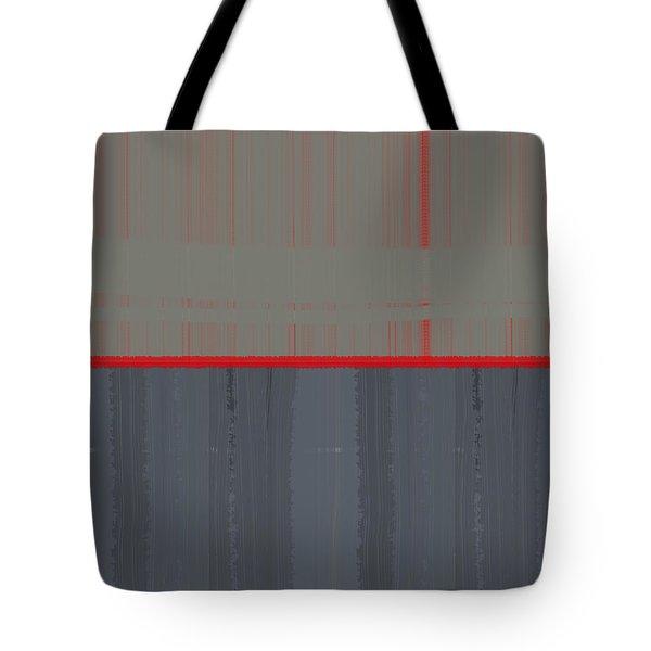 Red Stripe Tote Bag